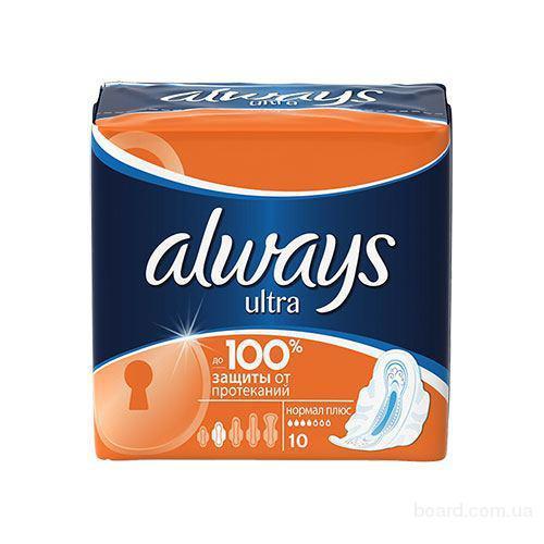 Гигиенические прокладки Always Ultra Normal Plus 10 шт