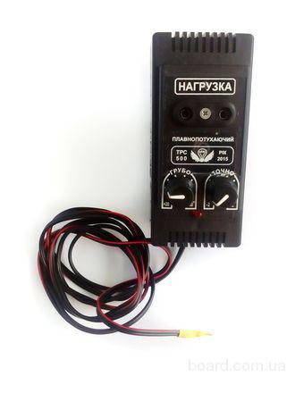Терморегулятор для инкубатора ТРС-500 ( Симисторный, плавно затухающий)