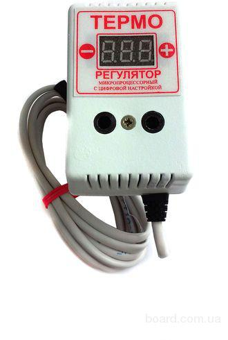 Регулятор температуры двухпороговый на 10 А/ 2 кВт