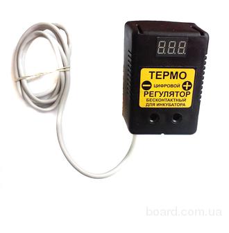 Регулятор температуры для инкубатора на 10 А , 2,2 кВт.