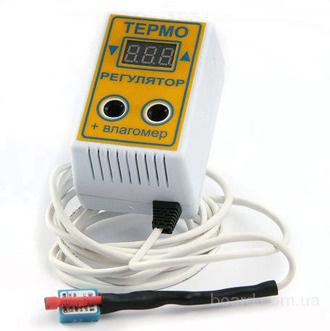 Цифровой терморегулятор + влагомер, 2в1