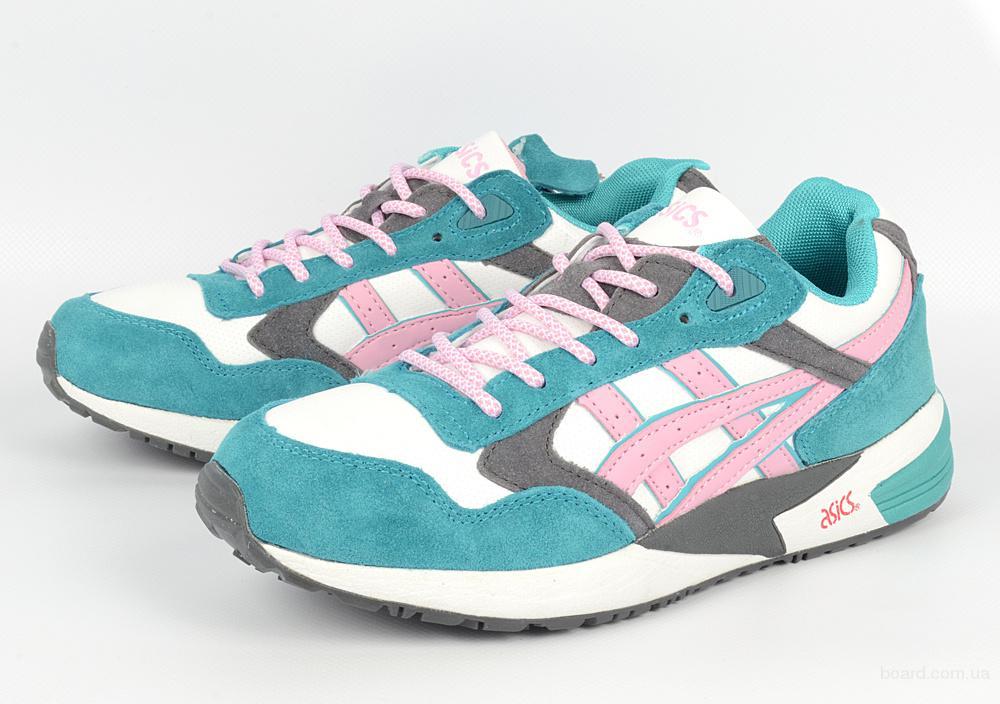 Женские кроссовки Asics Gel lyte V (Pink & White)