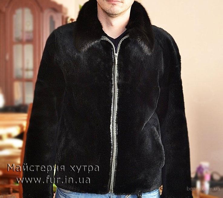 Мужская куртка, мех бобер . Индивидуальный пошив  из меха бобра.