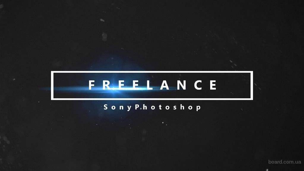 Видеомонтаж,фотошоп,создание логотипа