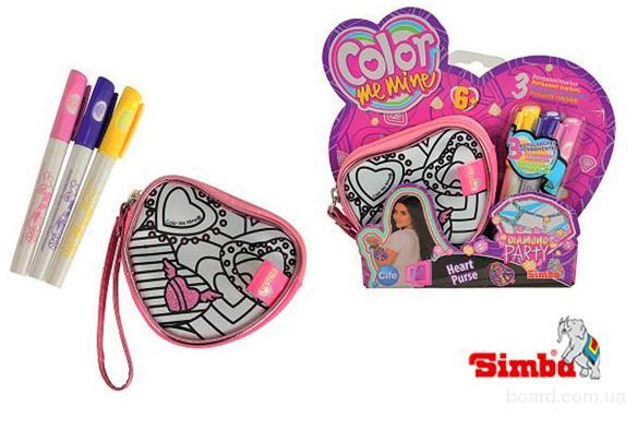 Кошелек Раскраска Сердце Color me mine Simba 6372201