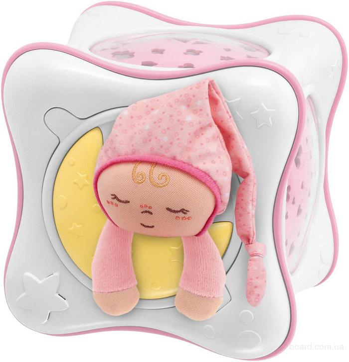 Ночник проектор детский радужный кубик Cube Chicco 24301