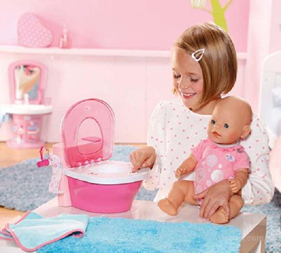 Интерактивный Горшок со звуком для куклы Baby Born Zapf Creation 819890