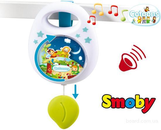 Музыкальная Подвеска Cotoons Smoby 110100N