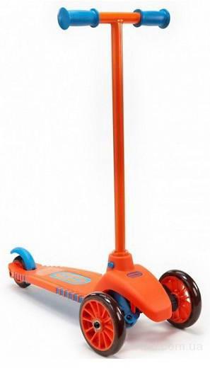 Самокат трехколесный Little Tikes 640124 оранжево-голубой