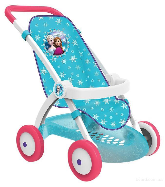 Коляска прогулочная для куклы Frozen Smoby 254045