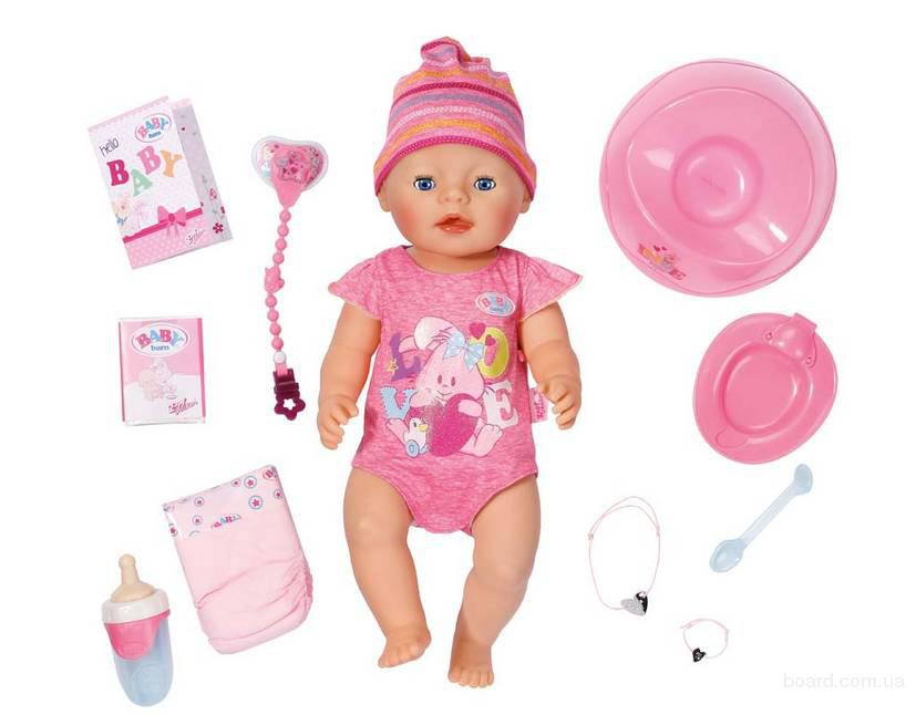 Интерактивный пупс Baby Born Zapf Creation девочка  822005