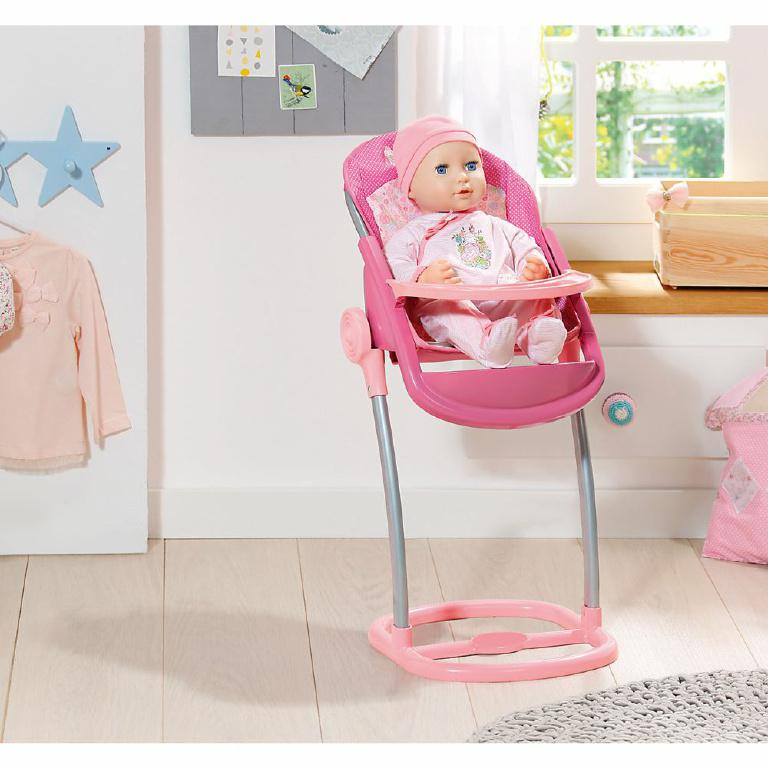 Стульчик для кормления пупса Baby Annabell Zapf Creation 794395