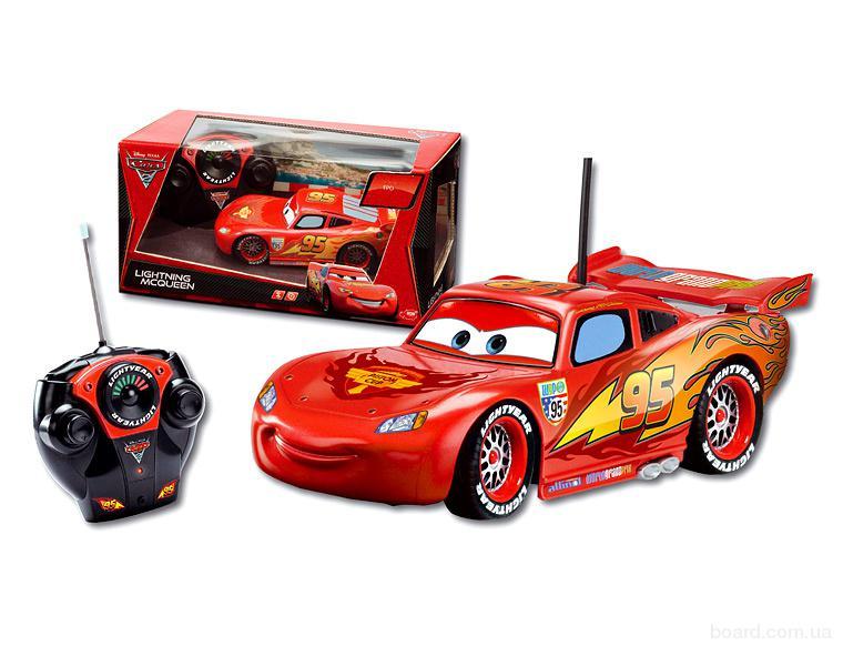 Машинка на радиоуправлении Cars Lightning McQueen Dickie 3089501