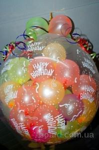 Шар сюрприз, шары воздушные