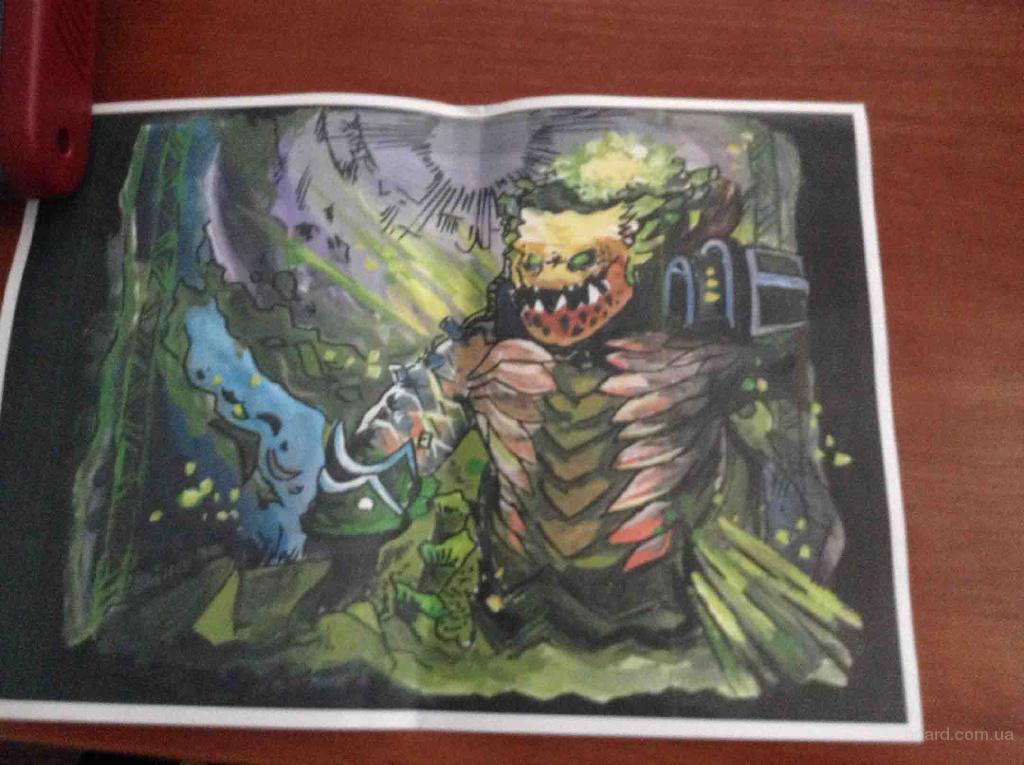 Новинка! Авторский плакат героя Dota 2: Underlord