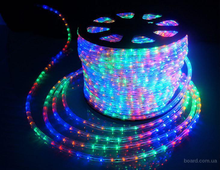 LED дюралайт двух трех жильный, комплектующие для дюралайта доставка по Украине