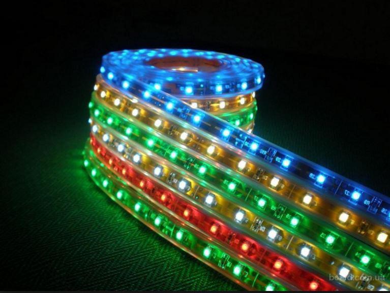 Качественная светодиодная лента, светодиодная подсветка, комплектующие для светодиодной ленты