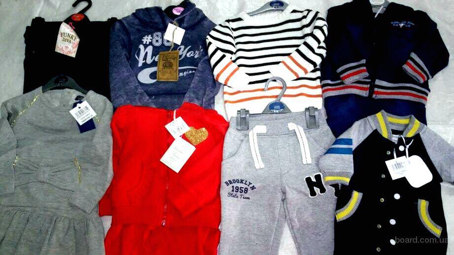 Новая детская одежда Міnоtі. Англия. По 19 евро/кг.