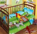Детский комплект постельного белья в кроватку 100% хлопок (Белоруссия)