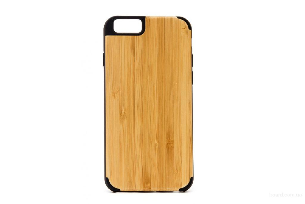 Деревянный чехол для iPhone 6 та 6S Сандал премиум