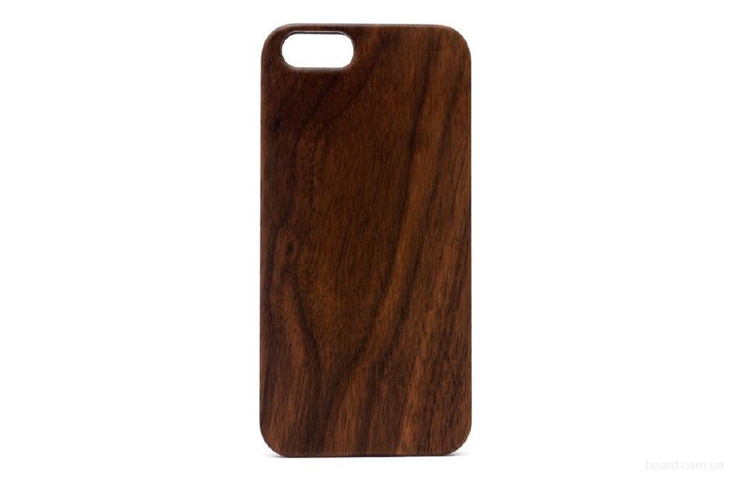 Деревянный чехол Американський горіх для iPhone 6 та 6S