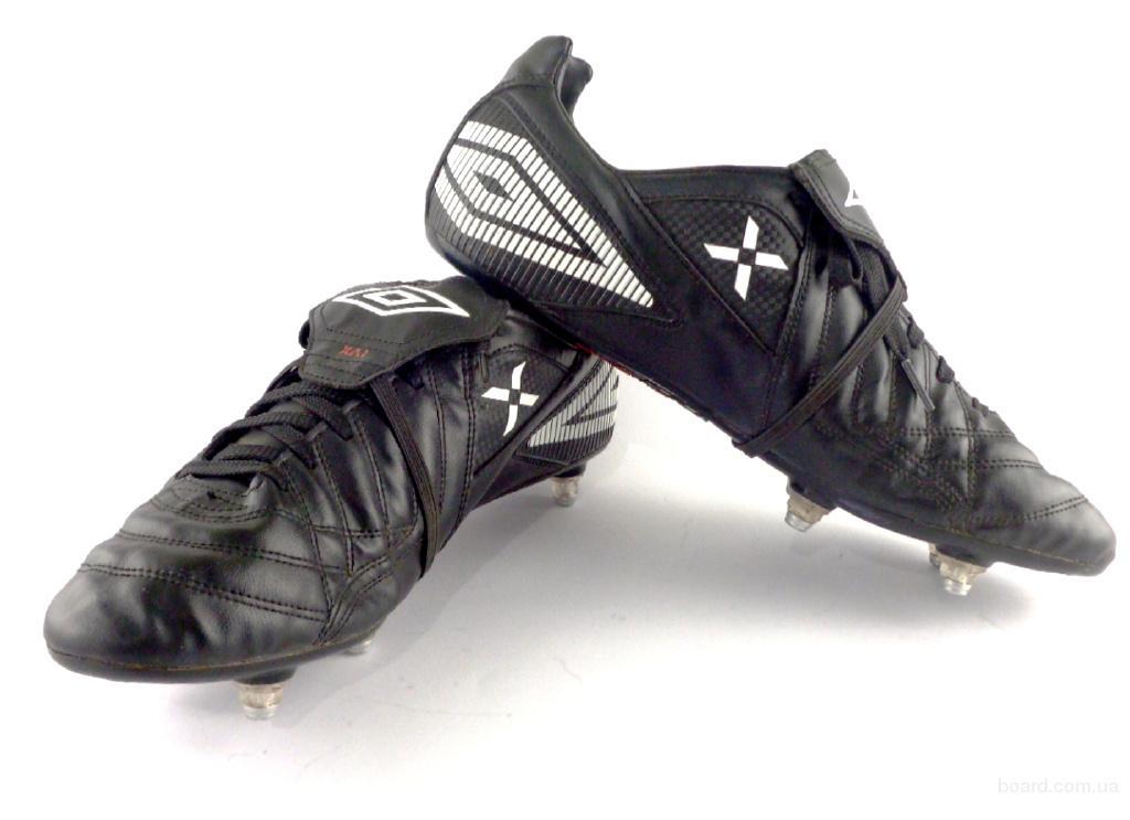 Бутсы, копы футбольные кожаные Umbro (БФ – 095) 44 – 44,5 размер