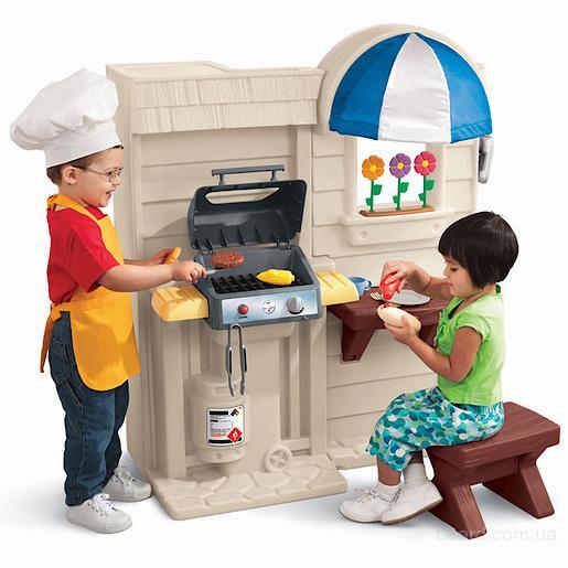 Интерактивная детская кухня с барбекю Little Tikes 450B