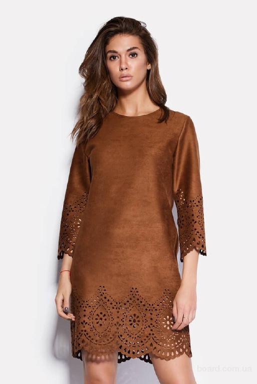 Перфорированное платье в интернет магазине Moda Style