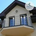 Ограждения балконов нержавейка