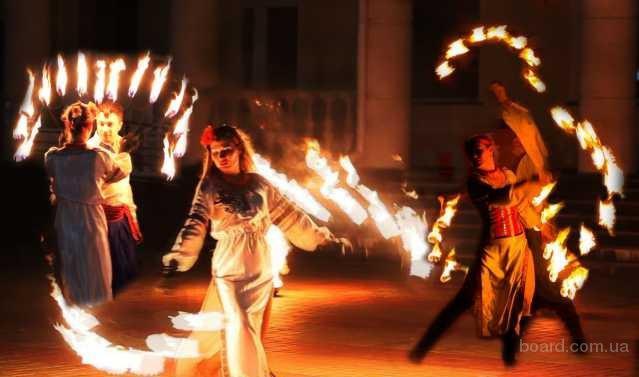 Огненное шоу для свадьбы или корпоратива! Пиротехника и горящие сердца