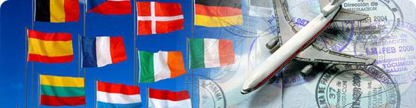 Оформление виз в чистые и отъезженные паспорта