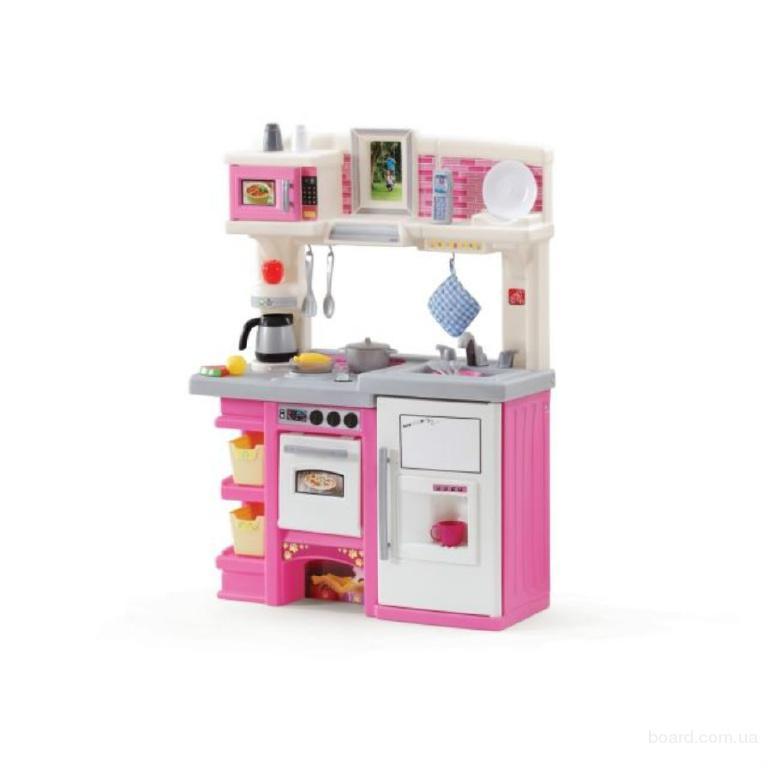 Кухня со звуковыми эффектами в розовом цвете Step2 8217
