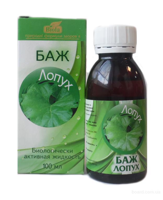 БАЖ «Лопух» повышает секрецию желудочного сока