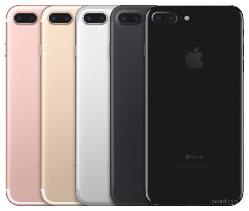 IPhone 7/ Iphone 7 Plus цвета: Black / Silver / Gold / Rose Gold / Jet Black и память 32GB / 128GB / 256GB - Только оригинальные! НЕ Китай!
