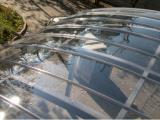 Прозрачный монолитный поликарбонат («оргстекло»)