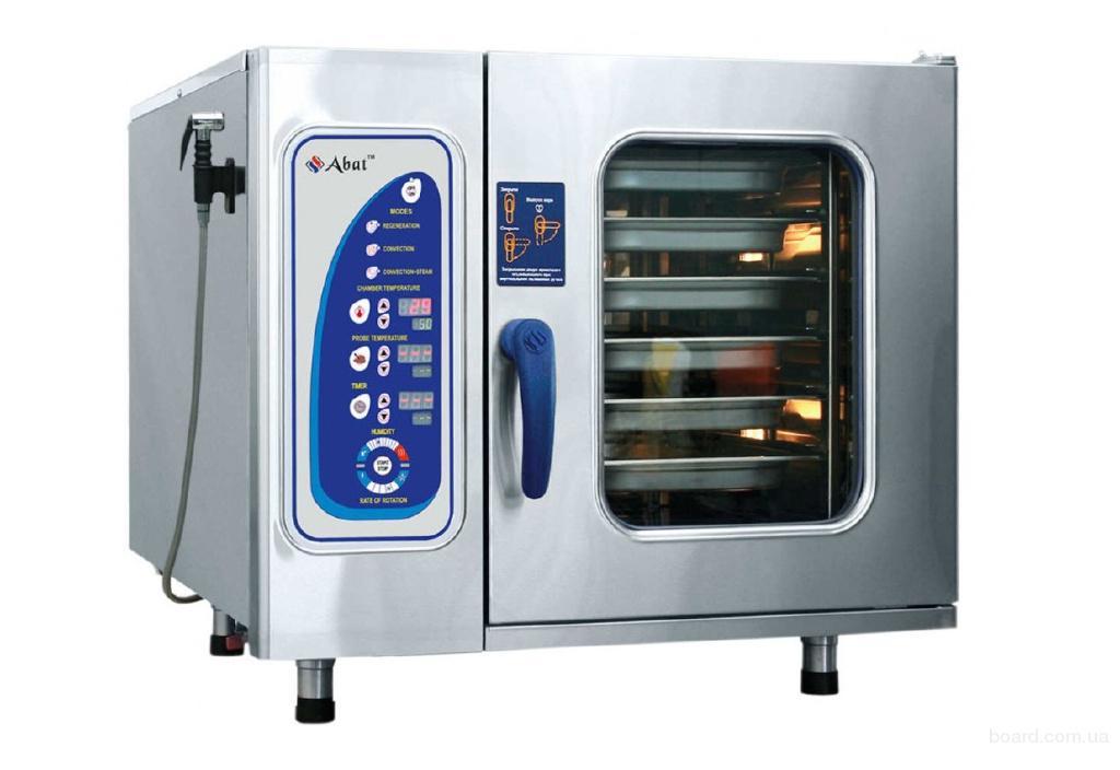 Продам пароконвектомат Abat ПКА 6-1/1ВМ для ресторанов и кафе