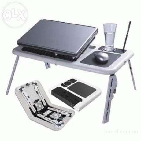 Столик подставка для ноутбука с охлаждением