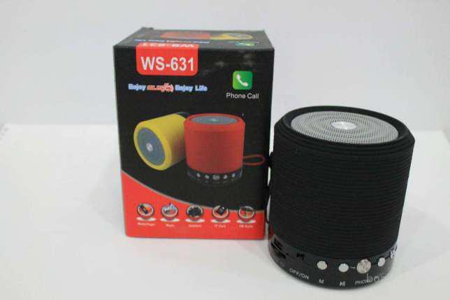 Портативная колонка Bluetooth, MP3, USB, радио WS 631