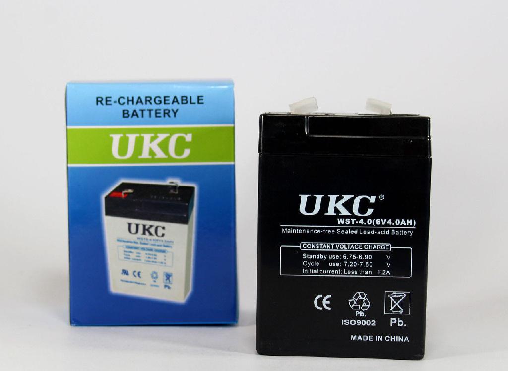 Аккумулятор Battery RB 640 6V 4A UKC (20)