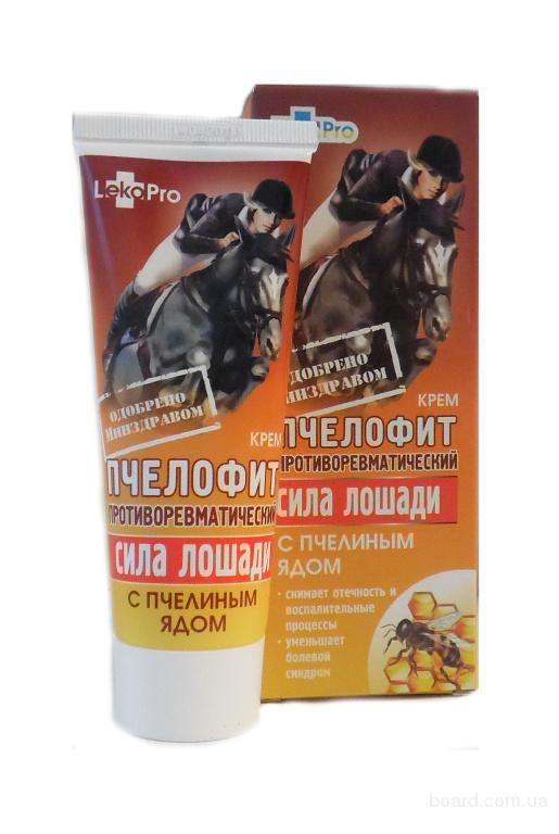 Крем Пчелофит серия «Сила лошади»