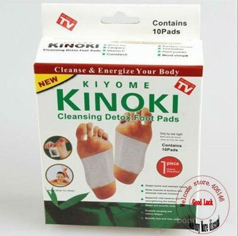 Детоксикационный пластырь для стоп Kinoki