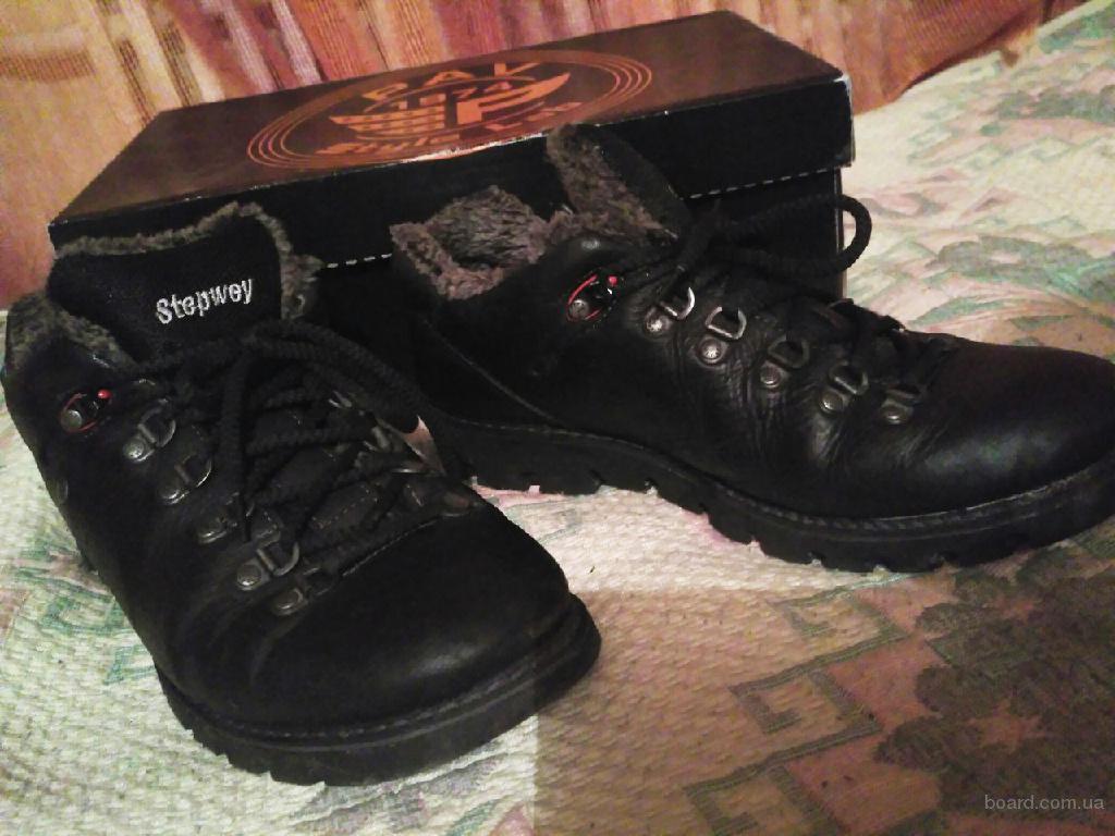Отличные зимние ботинки на мальчика-подростка