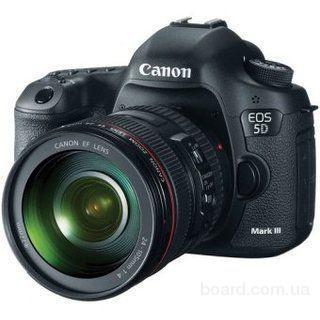 Зеркальный фотоаппарат Canon EOS 5D Mark III Kit (24-105mm)