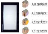 Фасады мебельные в алюминиевом профиле по низким ценам. Собственное производство