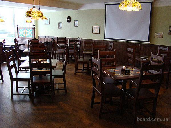 Мебель из дерева для ресторанов