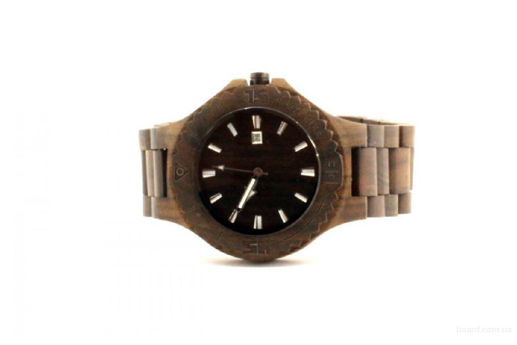 Экстраординарные деревянные наручные часы BlackWood