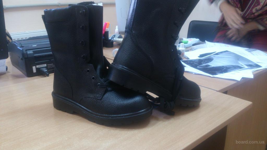 ботинки рабочие с высокими берцами,зимняя обувь,спецобувь