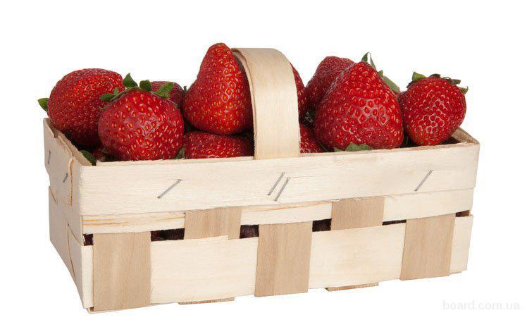 Плетеная корзинка для ягод
