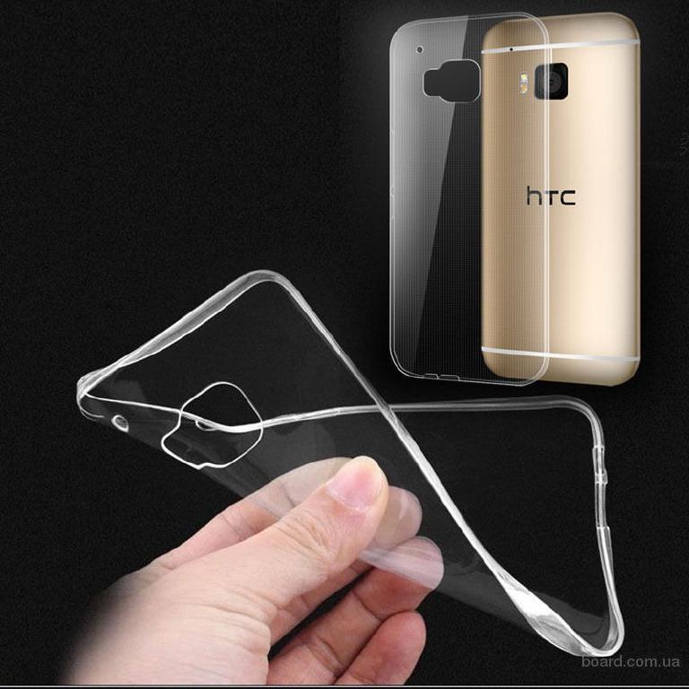 Прозрачный силиконовый чехол для HTC One M10