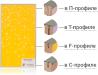 Мебельные фасады в алюминиевом профиле от производителя
